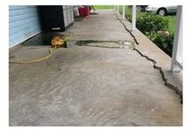 Concrete Lifting / Sinking concrete? Sidewalks, patios, driveways, pool decks, porch steps, garage floors...if it's concrete, we can lift it! Whether your concern is the aesthetic quality; the ongoing trip hazard; or a decrease in property value, Tennessee Foundation Services is the right choice for your concrete lifting needs. We use a state-of-the-art approach called PolyLevel.