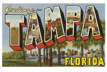 Tampa Headquarters / Our company is based in Tampa, Florida, so all things to do and see here, are pinned.