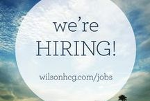 We're Hiring! / Are you currently looking for employment or a new job opportunity? Click the logo's for more details.   You can also follow us on Twitter @WilsonHCGJobs.  / by Wilson Human Capital Group