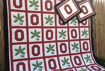 O H I O / OSU / Quilts inspired / by Sue Hook