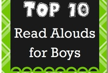Books for Boys (and Ideas for those Grandboys!) / by Jackie Thingvold