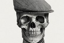 High skull / by Amparo Alcocer Marqués