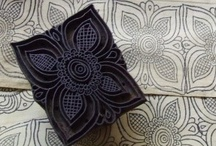Arts and Crafts with Rubber Stamps and Block Printing / by Jackie Thingvold