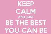 Keep calm baby!