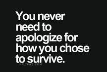 Surviving Narcissism / I wish I'd said that...