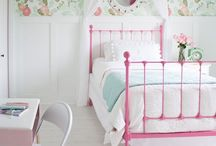 HOME | ideas for (older) girls bedroom / Decor for ages 5 - ?