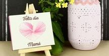 Día de la Madre - Manualidades -y Bricolajes / Descubre nuestra selección de ideas creativas fáciles de realizar para el día de la Madre.