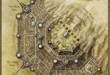 Dungeons & Dragons / Maps and Things for D&D
