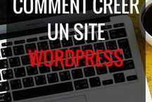 Comment créer un site #Wordpress ? / Je vous montre comment créer aisément votre #site #wordpress. Même les débutants peuvent arriver à créer leur #siteweb grâce aux différents #tutos que vous trouverez ici.