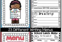 Writing / Writing activities to help you cover the standards.