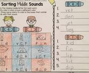 Word Study / Printables and hands-on activities to help you teach spelling and vocabulary.