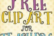 Clip Art / Border / Fonts