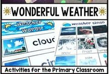 Weather / Seasons / Water Cycle / Fun and engaging activities to help teach all about the weather, the seasons, and the water cycle.