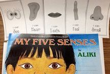 5 Senses / Fun and engaging activities to help teach all about the 5 senses.