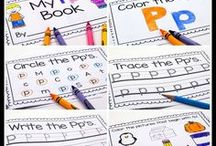 Alphabet / ABC Order / Printables and hands-on activities to help you teach the alphabet and ABC order.