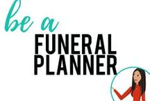be a Funeral Planner