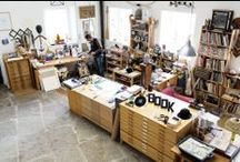 For the Studio / Things that either catch my fancy or I could use in the studio...even other artist's studios (those inspire me to keep mine organized) / by Moon Stumpp