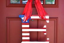 Wreaths-July 4th / by Sherri Hall