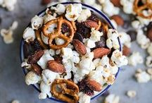 Creative Popcorn Recipes / Creative popcorn recipes -- gathered by arguably the biggest popcorn lover of all!