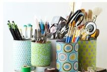 Organization tips / Tips and tricks for calming the chaos in our homes.