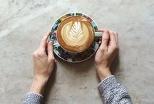 cafè con leche / This board is all about coffee. #amen / by Micaela Beth