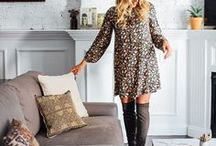 | Fall + Winter Fashion | / chic and casual styles for women, fall and winter fashion