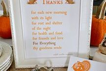 Thanksgiving Book / by Melissa Lide