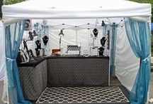 Craft Show Display Ideas / collection of ideas for creating an attractive display for craft shows / by Revka Stearns