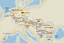 European River Cruises / by Arlene Jakubik