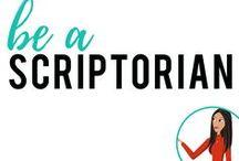 be a Scriptorian