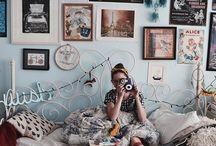 Bedroom / Bedroom inspiration and little details