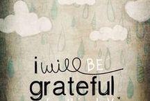 Gratitude / Using graitiude and journaling to foster creativity