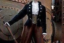 Androgynous Steampunk /  tomboy androgynous kodona teddy girl steampunk clothing
