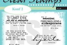 Clearstamps - Konf 2