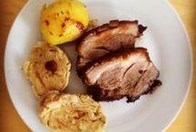 Schwein Rezepte&Produkte / Bio-Schweinefleisch in seiner besten Form. Schweinsbraten, Schnitzel & Co.