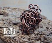 IoLi's Wire Rings / Wire rings - Δαχτυλίδια με σύρμα
