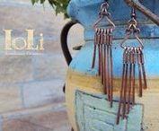 IoLi's Wire Earrings / Wire Earrings - Σκουλαρίκια με σύρμα