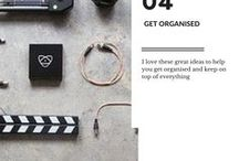 Get organised / I love these great ideas to help you get organised and keep on top of everything