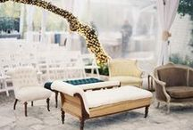 decor / decor inspiration for an outdoor wedding or event