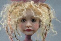 ❀...Beautiful art dolls / by Jen Luff