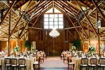 barn decor / inspiration for a barn wedding or event