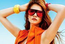 Sunglasses In Magazines / Beautiful, striking ads featuring beautiful, striking sunglasses