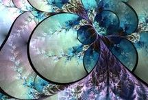 ❀...Purple/Plum & Turquoise