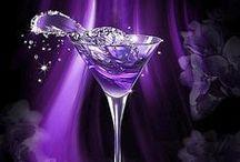 ❀...Purple & Silver