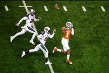 Texas Football vs. Texas Tech [Nov. 28, 2013] / Malcolm Brown and Joe Bergeron both top 100 rushing yards while the defense has a season-high nine sacks as the Longhorns defeat Texas Tech 41-16 on Thursday, Nov. 28, 2013, in Austin. / by Texas Longhorns