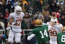Texas Football at Baylor [Dec. 7, 2013] / Malcolm Brown runs for 131 yards as Texas' defense keeps Baylor's high-powered offense off the scoreboard for much of the game, but BU quarterback Bryce Petty throws two second half TDs to lead the Bears to a 30-10 win. / by Texas Longhorns