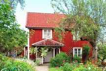 ❀...Sweet Red Cottage