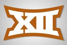 Big 12 Conference graphics / Texas fans can share the new Big 12 Conference logo by downloading graphics with a burnt orange theme to share on social media! (The Big 12 Conference announced a new set of branding and identity standards, beginning with the 2014-15 school year, on July 1.) Big12Sports.com / by Texas Longhorns