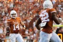 Texas Football 38, North Texas 7 [Aug. 30, 2014] / Texas' defense picks off four passes and allows just 94 yards of total offense as the team collects its 15th consecutive season-opening win to open the Charlie Strong era with a 38-7 victory over North Texas at Darrell K Royal-Texas Memorial Stadium. / by Texas Longhorns