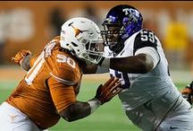 Texas Football 10, TCU 48 / Despite holding No. 6/5 TCU's high-octane offense to a season-low 368 total yards, the Texas Football team was undone by turnovers as the Horned Frogs defeated the Longhorns 48-10 on Thanksgiving night (Thursday, Nov. 27, 2014) at Darrell K Royal-Texas Memorial Stadium. / by Texas Longhorns